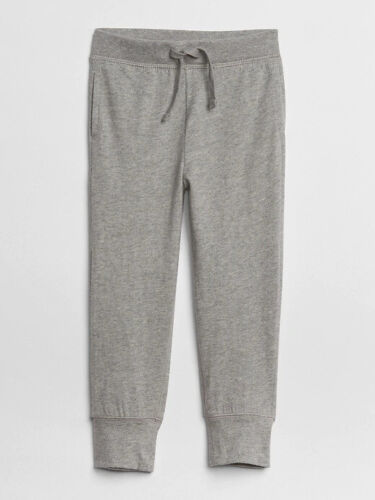 NWT GAP Toddler Pull-On Joggers Soft Pants Pockets Grey Heather 3T 5T