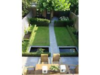 Garden design, Patios, Slabs, Fencing, decking, Artificial turf laying, Real turf Installation