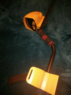 Metal detector with waterproof coil, never used.