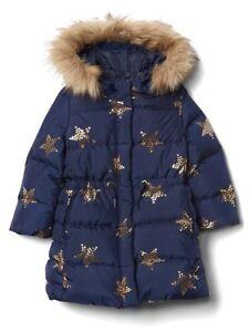 BabyGap BabyGap Down puffer parka coat (size 4T)