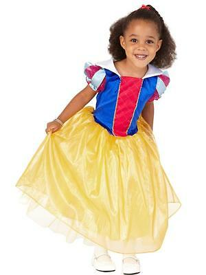 NWT Snow White Costume by ALL DRESSED Girls SIZE Small 5/6 Dress Up Princess