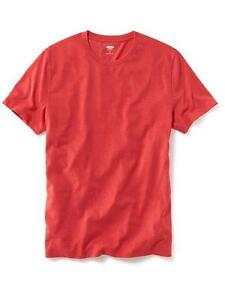 Brand new with tags Men's Red crewneck t-shirt size L Lot of 2