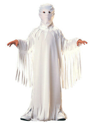 WHITE GHOST GHOUL GOBLIN UNISEX CHILDREN SIZE LARGE 12-14 HALLOWEEN COSTUME](Ghostly Ghoul Costume)