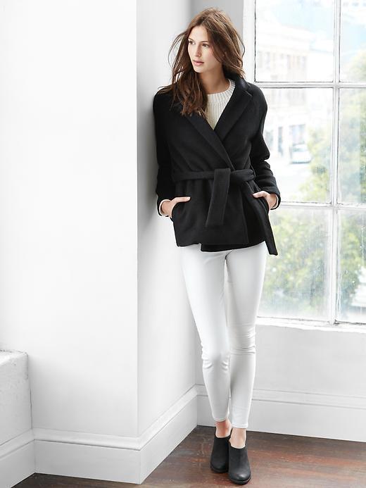 Wool Wrap Coat