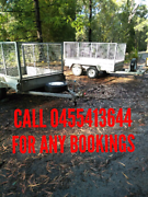 CAGE TRAILER HIRE $30 Ryhope Lake Macquarie Area Preview