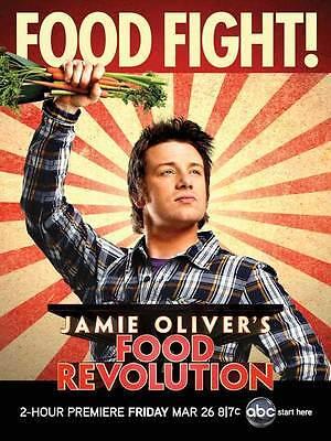 FOOD REVOLUTION (TV) Movie POSTER