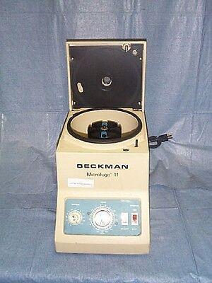 Centrifuge Benchtop Model Beckman Microfuge 11