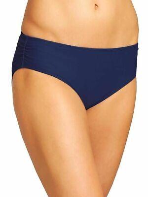 NWT Athleta Shirred Full Tide Swim Bottom Dress Blue sz S Small  #964881 Full Tide Bottom