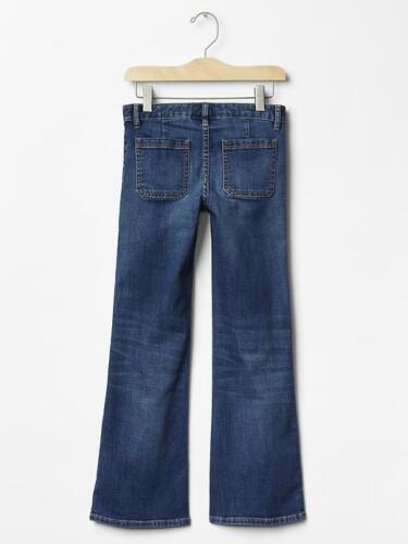GapKids 1969 Flare medium wash jean Premium stretch denim SIZE 8 REGULAR #0156-Y