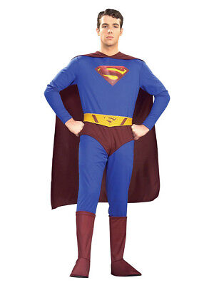 Mens Super Hero Costumes (Superman Returns DC Comics Super Hero Adult)