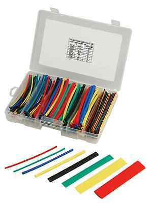 160 Pc Heatshrink Tubes - Polyolefin Insulation Color Heat Shrink Tubing 8 Sizes