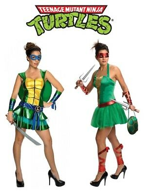 Women's Teenage Mutant Ninja Turtle Costume (Women's Teenage Mutant Ninja Turtles - Leonardo or Raphael Halloween)