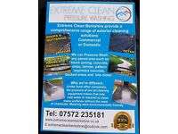 EXTREME CLEAN PRESSURE WASHING DRIVEWAYS PATIOS DECKING ROOFS PATHWAYS CAR PARKS GRAFFITI REMOVAL
