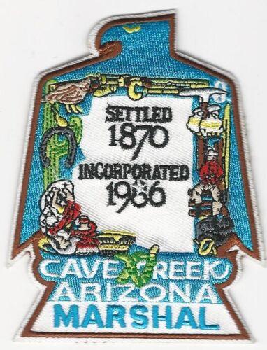 Cave Creek Marshal Police State Arizona AZ