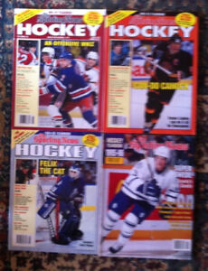 The Sporting News hockey yearbook magazines lot