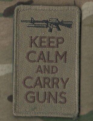 DAESH WHACKER GREEN BERETS SP OPS KEEP CALM SERIES: Carry Guns (Burdock backing)