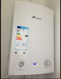 As New Worcester Bosch Greenstar 18Ri gas fired Condensing Boiler & Expansion Vessel