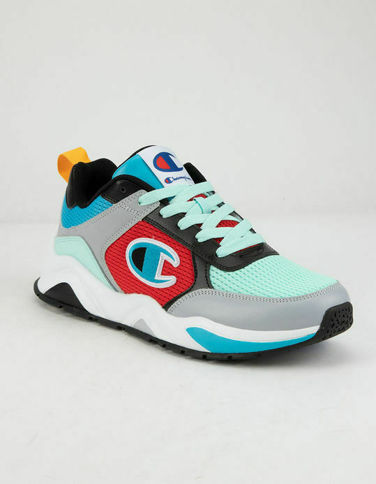 CHAMPION Classic Leather Logo C Mens 93Eighteen Sneakers mul