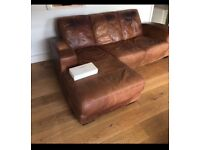 Dfs corner leather sofa