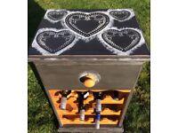 Shabby Chic Wine Cabinet
