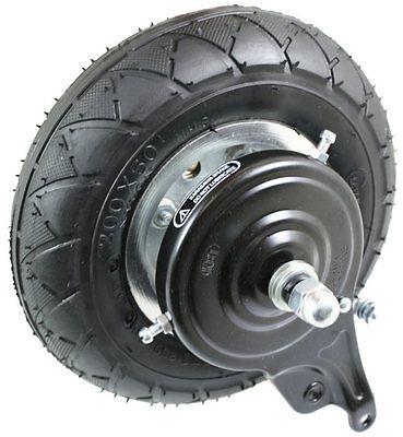 Razor E200 E225 Scooter Rear Wheel Assembly (V36+) chain drive tire tube 200x50