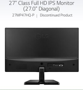 "LG 27"" IPS LED Full HD Gaming Monitor"