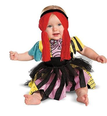 NEW The Nightmare Before Christmas Sally Infant Halloween Costume 6-12 Months - Nightmare Before Christmas Infant Halloween Costumes
