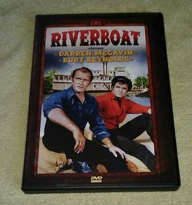 Riverboat DVD TV Series 5 Episodes Darren McGavin Burt Reynolds