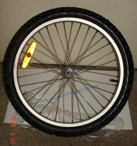 "A 20"" Mountain bike front wheel, in great nick, is for sale Mitcham Mitcham Area Preview"