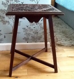Carved Table