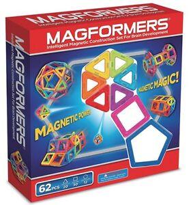 Magformers-62-Pcs-Magnet-Standard-Magnetic-Construction-Set-63070-NEW