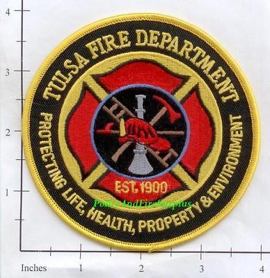 Oklahoma - Tulsa OK Fire Dept Patch