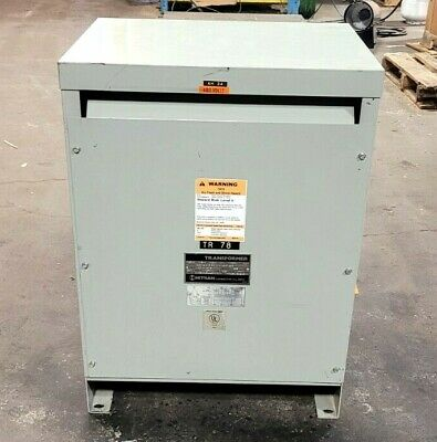Hitran 15 Kva Drive Isolation Transformer 460 X 460y266 3 Phase D3001544h6