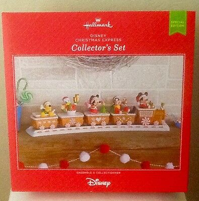 2016 Hallmark ~ Disney Christmas Express Train-Collector's Set ~Limited Edition