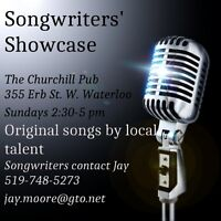 Songwriter Showcase in Waterloo