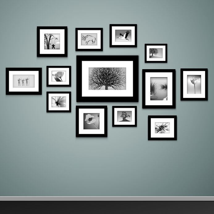 How To Mount Photo Frames On The Wall Ebay