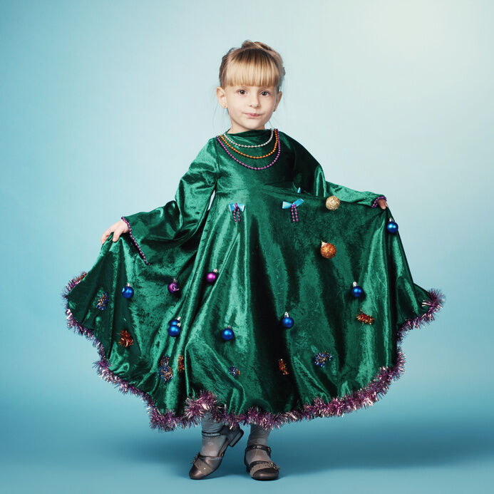 DIY: Christmas Tree Costume | eBay