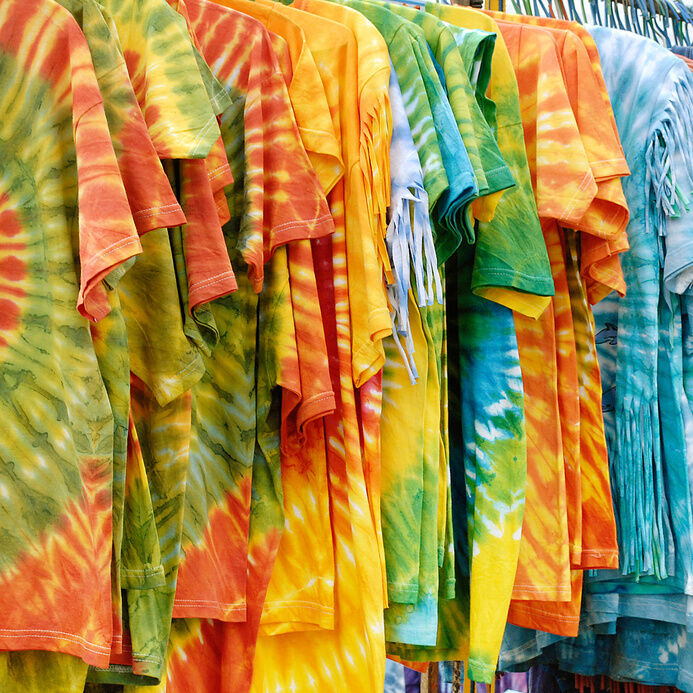 How to Tie-Dye a Top with Bleach
