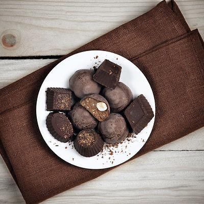 Selbstgemachte Schokolade - wie süß ist das denn!