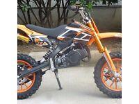New 49cc kids mini dirtbikes free uk delivery
