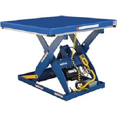 New Electric Hydraulic Scissor Lift Table 48 X 48 3000 Lb.
