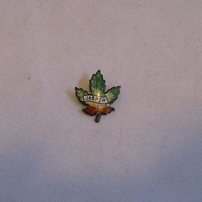 MAPLE LEAF PIN-Jasper Canada Travel Souvenir