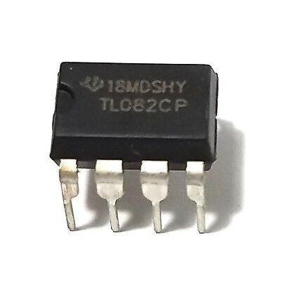 2pcs Texas Instruments Tl082cp Tl082 Dual Jfet Operational Amplifier New Ic