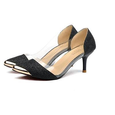New Sexy Women Casual Pointed Toe Pumps High Heels Party Wedding Shoes Pumps  2