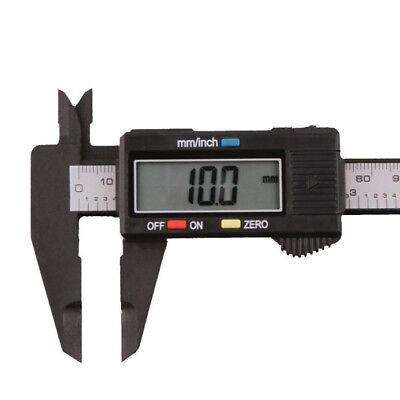 Lcd Screen Digital Electronic Carbon Fiber Vernier Caliper Measuring 150mm6