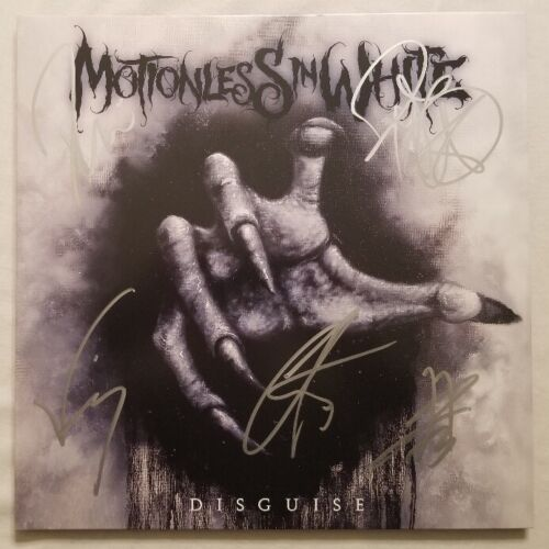 Motionless In White Autographed Disguise Vinyl LP