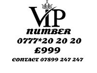 VIP GOLD MOBILE NUMBER 20 20 20