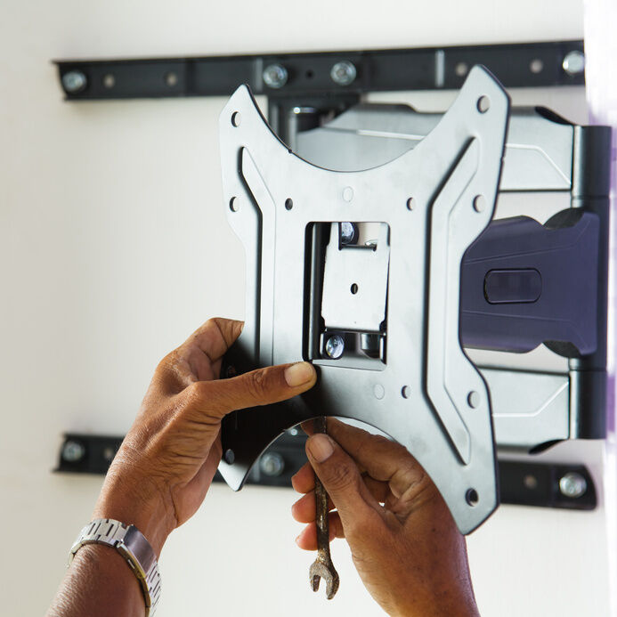 How to Install a Television Wall Bracket