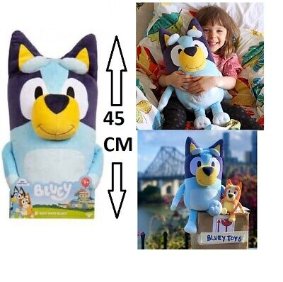 ** GENUINE **  Best Mate BLUEY Friends Plush 45cm JUMBO TOY ~ ABC Kids TV Moose