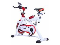 Brand New and Boxed Spin Bike, Gym Standard, 20kg flywheel with full computer. Exercise Bike